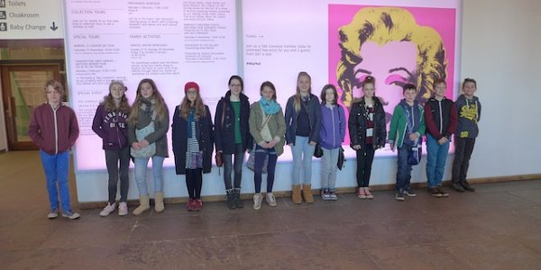 Visit to Tate Liverpool